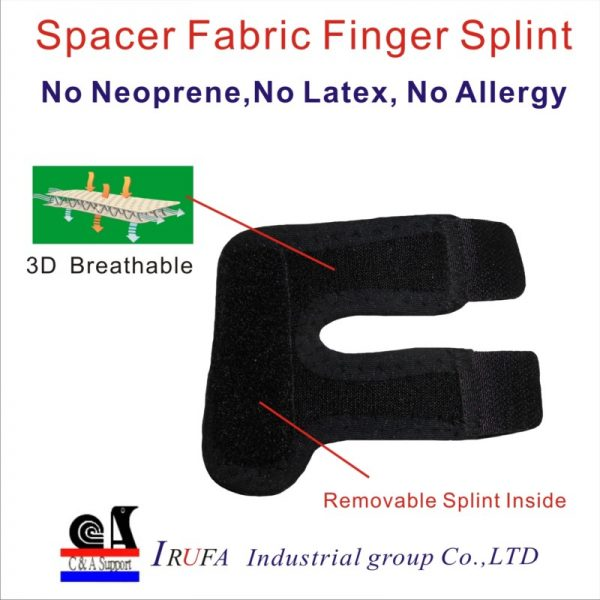 Spacer Fabric finger Support