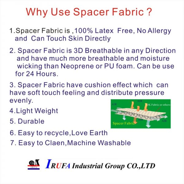 Why use Spacer Fabric