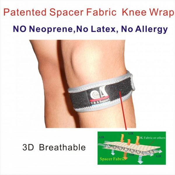 Spacer Fabric knee strap
