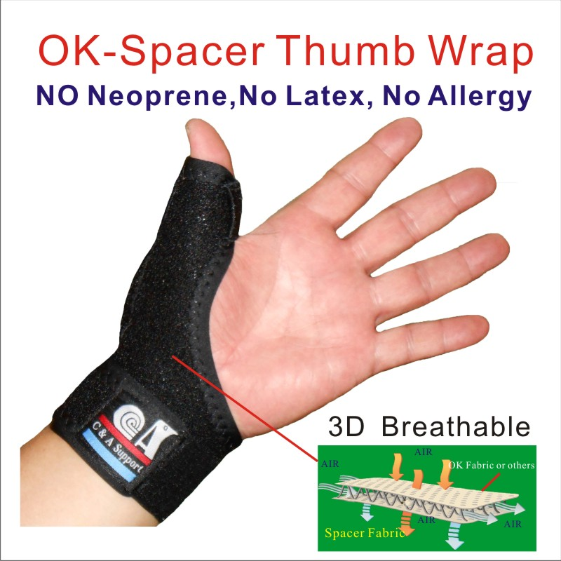 breathable thumb spica