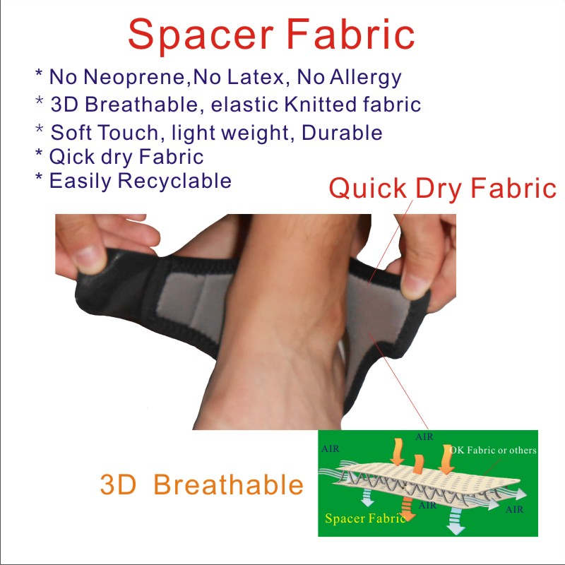 Spacer Fabric Ankle Wrap