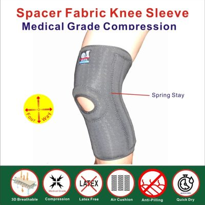 spacer fabric knee sleeve