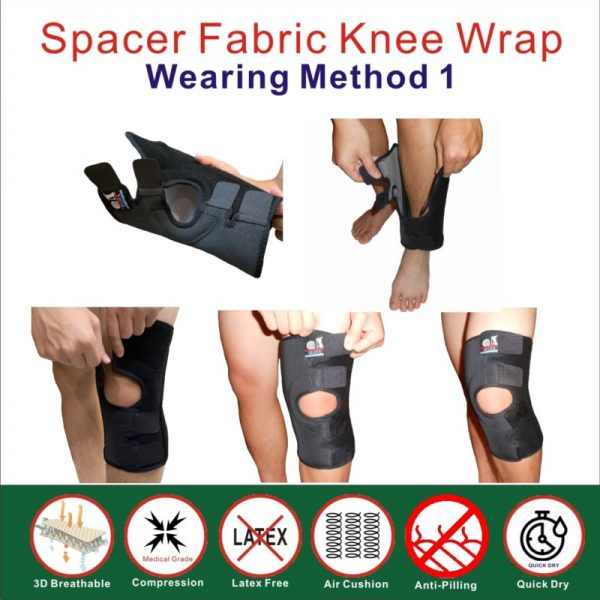 Breathable Knee Wrap