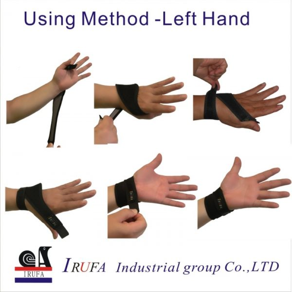 Spacer Fabric wrist Support