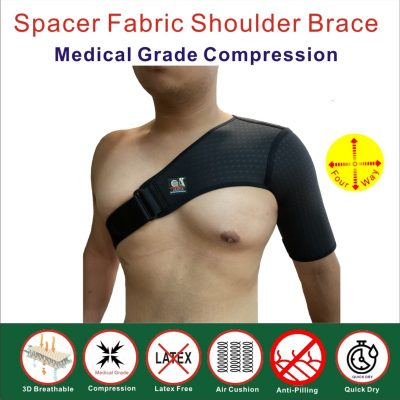 Spacer Fabric Shoulder Brace