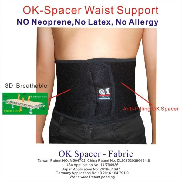 Spacer Fabric Back Belt