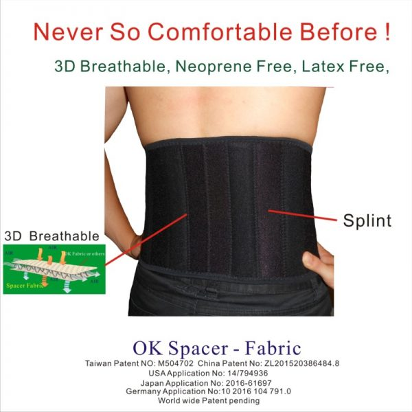 Spacer Fabric Back Support