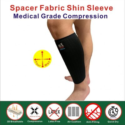 Spacer Fabric Shin Sleeve