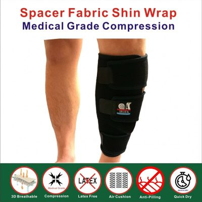 spacer fabric shin wrap