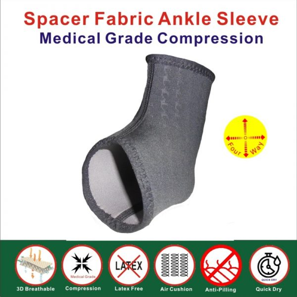 Spacer Fabric Ankle Brace