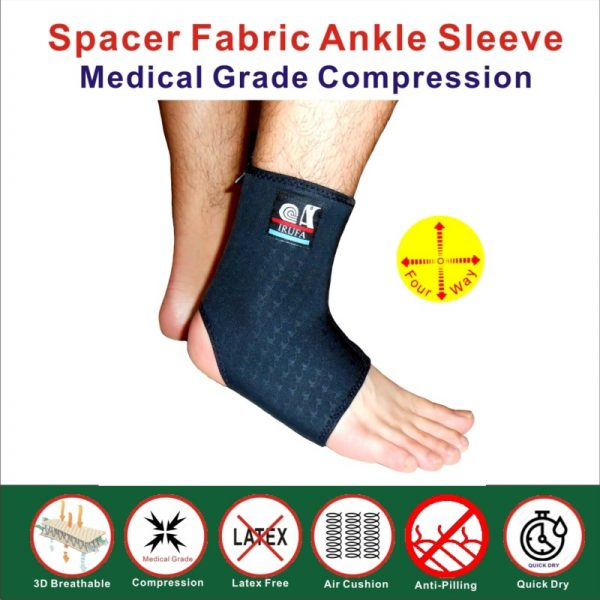 Spacer Fabric Ankle Stabilizer